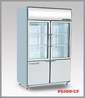 Dual Display Chiller Freezer Singmah Steel Refrigeration