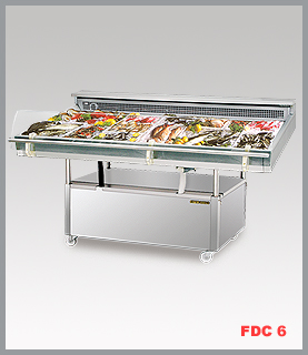 Fish Display Case Singmah Steel Refrigeration